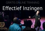 Gratis Online Training 'Effectief Inzingen'